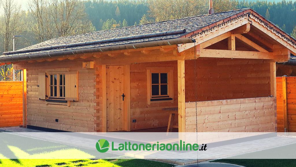 Casette in legno da giardino: soluzione a problemi di spazio