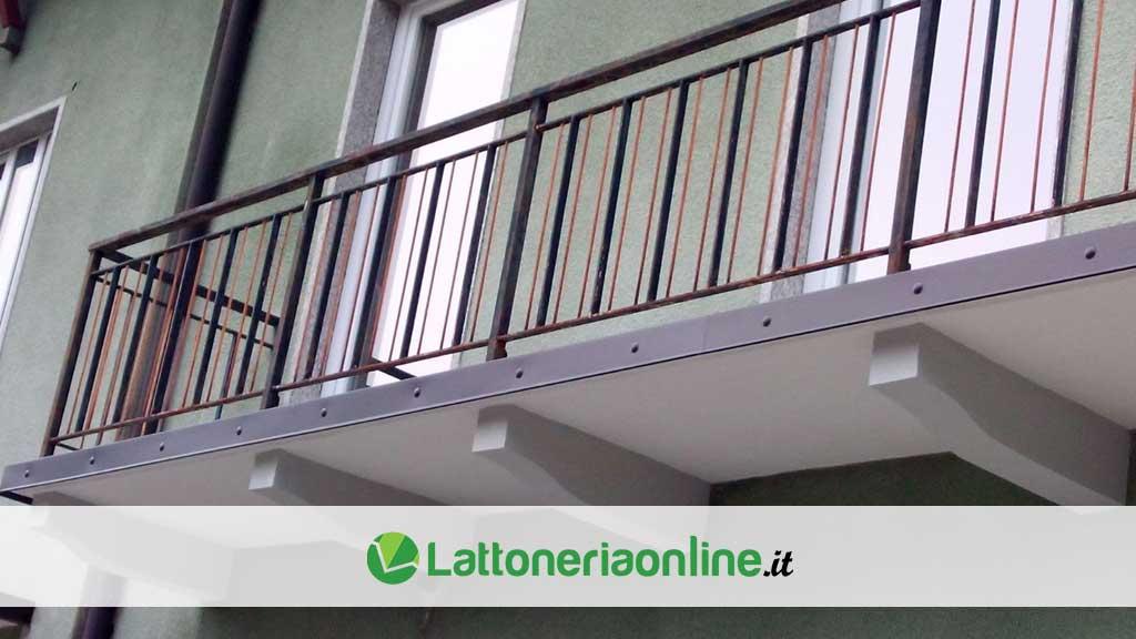 Profili gocciolatoi per balconi: a cosa servono