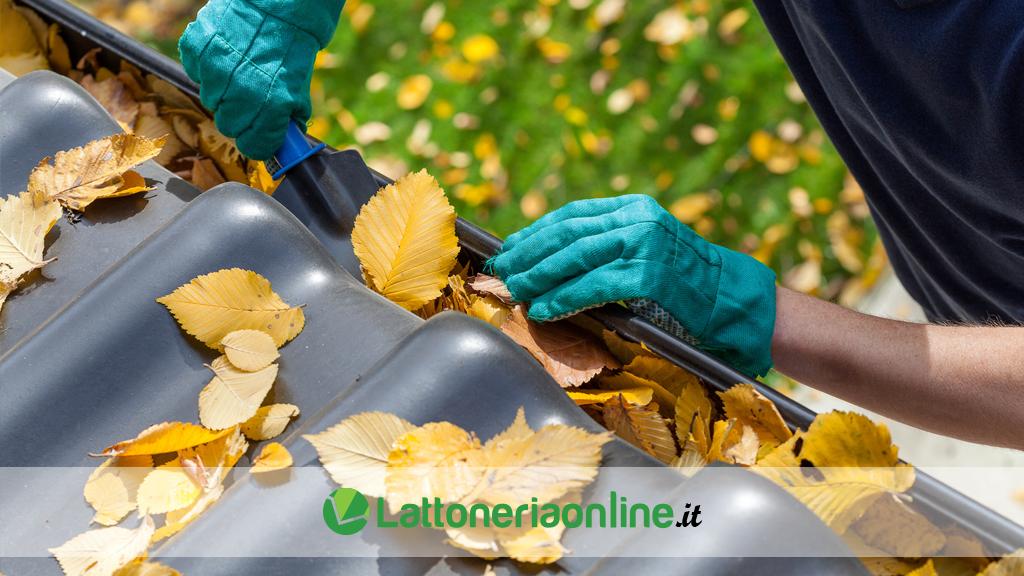 Come effettuare pulizia grondaie e manutenzione ordinaria
