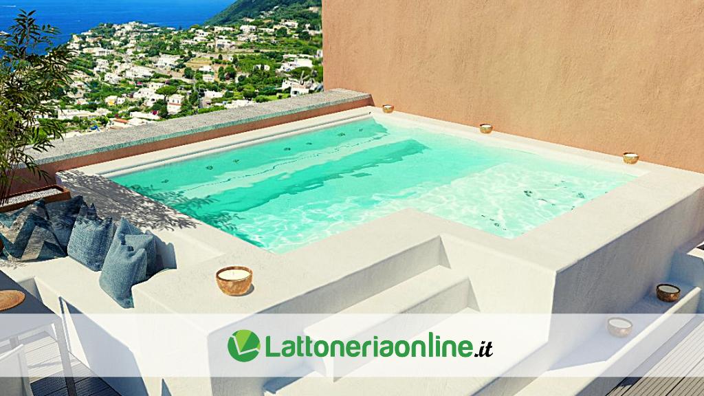 Realizzare piscina su terrazzo
